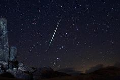 Meteor shower - taking time to savor the small wonders of the universe.