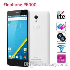 Original Elephone P6000 MTK6732 64bit Quad Core Smartphone 4G FDD-LTE Cell Phone 5 Inch Android 4.4 2GB RAM 16GB ROM 13MP Unlocked from Easycome,$118.9   DHgate.com