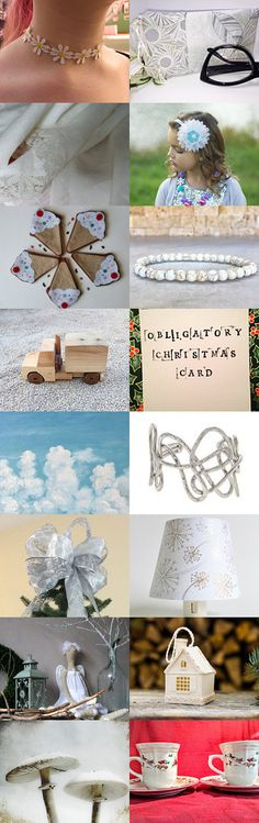 Like snow at Christmas by Norma Ricaldone on Etsy--Pinned with TreasuryPin.com