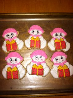 snow baby cookies for Christmas