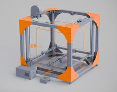 BigRep ONE Timeplapse. BigRep ONE is an unprecedented full-scale format 3D printer with an 1147 x 1000 x 1188 mm (1.3 m³) working volume.