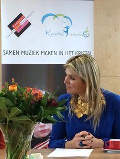 Queen Maxima visits the MFC Het Kristal