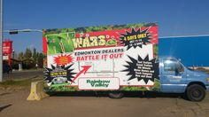 RV Wars uses a Mobile AdVan to promote their event across the city. #outdooradvertising #alternativeadvertising #mobilebillboards #outofhomemarketing