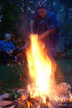 Fire Ceremony. A fire ceremony is the most powerfully transformative of all rituals. Each fire ceremony offers us the opportunity to use the source of all light to amplify our intentions and oblations.