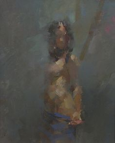 Nude under Bright Light by Luis Morris from Bell Fine Art, Winchester, Hampshire, UK
