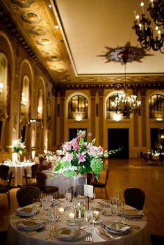 love the architectural design of this room! would be so easy to enhance with lights for a reception