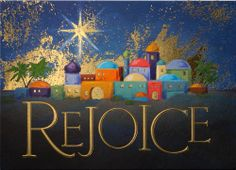xmas card bethelehem   Home > Christmas Cards > Religious > Town of Bethlehem
