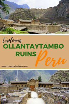 Tips for visiting the Ollantaytambo Ruins in the Sacred Valley, Peru with Kids | #peruwithkids | #ollantaytamboruins