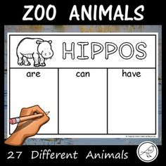 Activity sheets for students to complete to show their knowledge of 27 different animals that are commonly found in zoos. Suggestions for use: * showing current knowledge before commencing an animal unit. * recording knowledge during research. Zoos, Activity Sheets, Classroom Resources, Zoo Animals, Student Learning, Students, Knowledge, The Unit, Activities