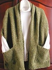 Wrap Knit Pattern from -- A cozy wrap to wear while curling up with a good book! Beginner to easy pattern to knit.Readers Wrap Knit Pattern from -- A cozy wrap to wear while curling up with a good book! Beginner to easy pattern to knit. Easy Knitting, Loom Knitting, Knitting Patterns Free, Knit Patterns, Knit Wrap Pattern, Cardigan Pattern, Stitch Patterns, Knit Or Crochet, Crochet Shawl