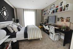 16 quartos cheios de estilo e sofisticação