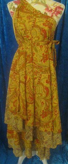 sari wrap skirt instructions