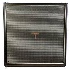 Tyrant Tone 4x12 Guitar Cab Ebony & Black/Silver w/Wizard Speakers