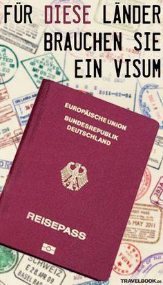 Laut einem aktuellen Index ist der deutsche Pass das Dokument, mit dem man weltweit die größte Reisefreiheit genießt. Heißt, um einreisen zu dürfen, brauchen Deutsche für viele Länder überhaupt kein Visum. Doch bei einigen Reisezielen ist ein Visum Pflicht. Außerdem gibt es verschiedene Arten von Visa. Ein Überblick.