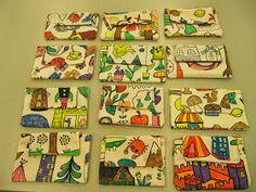 Viikko sitten valmistuivat kolmosluokkalaisten ensimmäiset väritetyt penaalit. Näissä voi hyvin säiilyttää vaikka tusseja tai värikyn...