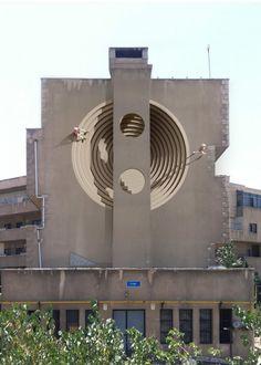 Monumental Murals by Mehdi Ghadyanloo