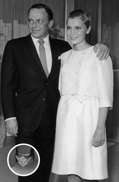 <div>Mia Farrow said yes to this gorgeous 9-carat solitaire ring when she married crooner Frank Sinatra in June of 1966.</div><div><br></div>