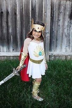 She-ra Princess of Power inspired costume 2T through GIRLS 7 | Lets Run costume ideas | Pinterest | Costumes Halloween costumes and Children costumes  sc 1 st  Pinterest & She-ra Princess of Power inspired costume 2T through GIRLS 7 | Lets ...