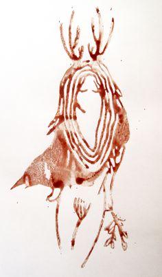 Witch by John Anna #menstrual #art