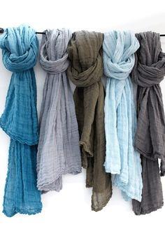 palette de bleus