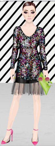 CuteRockybalboa #Stardoll #Outfit #PartyOn