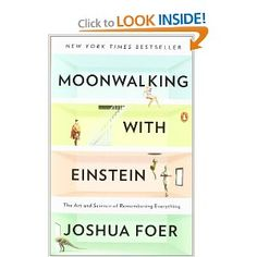 Moonwalking with Einstein: The Art and Science of Remembering Everything by Joshua Foer.  We are the sum of our memories.