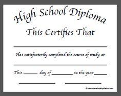 high school diploma certificate fancy design templates