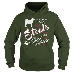 A Finnish Spitz steals my heart  T-Shirts, Hoodies ==►► Click Image to Shopping NOW!