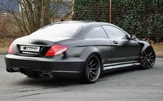 Murdered-out Mercedes CLS