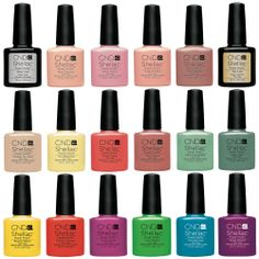 Cnd Shellac Uv Nail Polish Choose From Any Colours Base Or Top Coat Authentic
