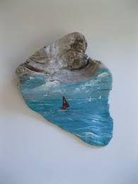 Bildergebnis für painted driftwood