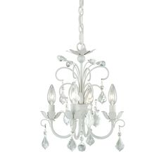 Shop Cascadia Lighting Ellie 4 Light Mini Chandelier at Lowe's Canada. Find our selection of chandeliers at the lowest price guaranteed with price match + 10% off.