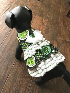 Dog Dress Dog Clothing Dog Apparel Dog St. Patricks