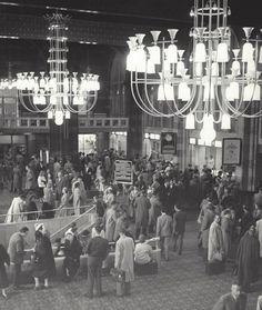 Central Station  Amsterdam, ca 1953-1958. Kees Scherer