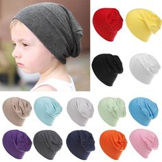 8ddfd8f498a Baby Unisex Boy Girl Children Infant Soft Cotton Cute Cap Beanie Hats Caps   fashion