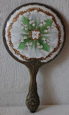 1000 Images About Antique Hand Mirrors On Pinterest
