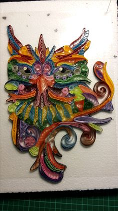 Quilling Made for my 1.st grandchild
