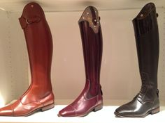 DeNiro custom boots from Italy