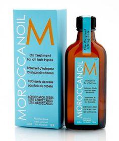 aceite de Moroccanoil para el cabello, dicen que hace milagros