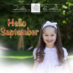 Hello September! Who's ready for crisp air, pretty leaves, and cozy knit outfits! Get ready for cooler weather with our beautiful blankets, cardigans, booties, and knit sets up on our site!  http://feltmanbrothers.com/search.php?search_query=knit
