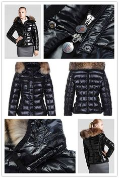 Moncler Armoise Hot Sell Down Jackets For Women Black Sale