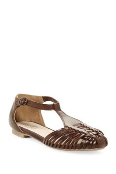 Seychelles - Into Thin Air Leather Huarache Flat Sandal at Nordstrom Rack. Free Shipping on orders over $100.
