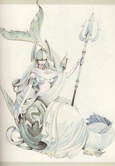 akihiro yamada - mermaid | Yamada Akihiro | Pinterest