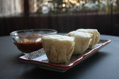 igloo cooking: BOLLITOS JAPONESES DE CREMA DE QUESO EN MICROONDAS