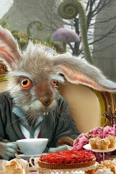 The March Hare - Alice in Wonderland Tim Burton