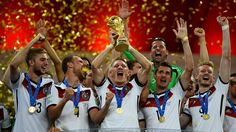Write the history of the German Cup record  Germany is world champion! The German team became the first European team to win a FIFA World Cup played in South America and Brazil applauded a stuffed world of big football games and record for history.