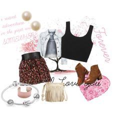 adventure somewhere by gigivega100 on Polyvore