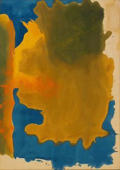 Collection Online | Helen Frankenthaler. Canal. 1963 - Guggenheim Museum. Relates to 149. The Bay. Helen Frankenthaler. 1963 C.E. Acrylic on canvas.