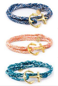 Anchor Wrap Collection // Pura Vida Bracelets