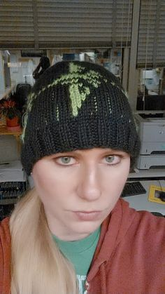 My new Ingress Enlightened hat!